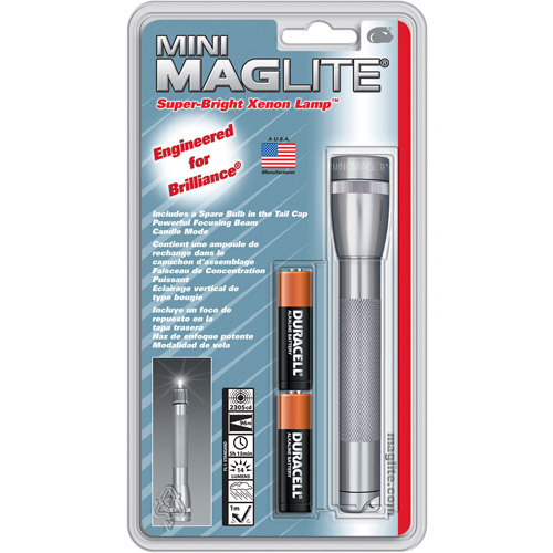 MAG Instrument AA Mini Maglite Flashlight