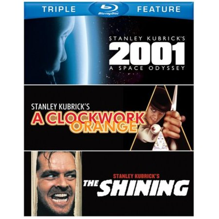 2001  A Space Odyssey   A Clockwork Orange   The Shining  Blu Ray   Widescreen
