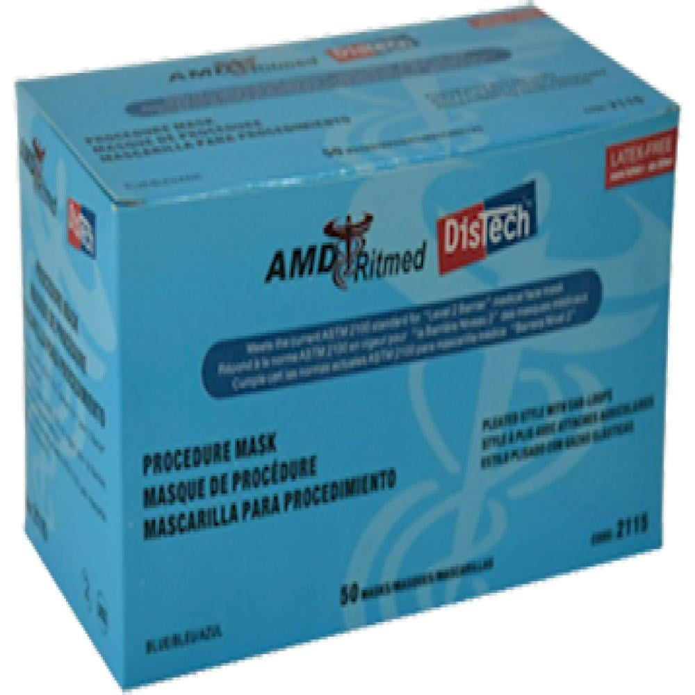 amd ritmed distech procedure disposable face mask
