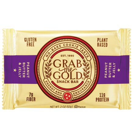 Grab The Gold Peanut Butter & Jelly 12-Pack Energy Snack