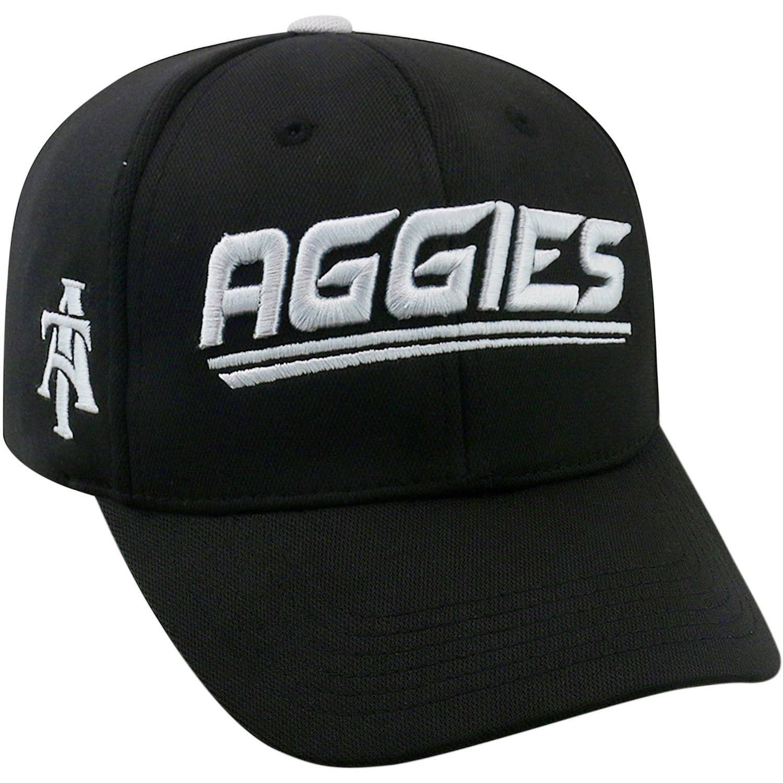 University Of North Carolina A&T Aggies Black Baseball Cap