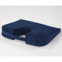Firm Coccyx Support Car Cushion - Washable Cover/Carrying Handle - Seat Cushion