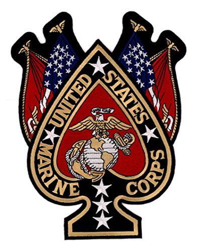 USMC Semper Fi Set of Rockers Iron on or Sew on!