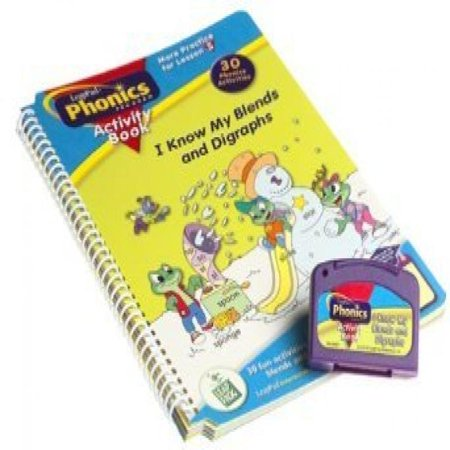 LeapPad Phonics Program Activity Book 3: I Know My Blends and Digraphs Activity Book and Cartridge ()