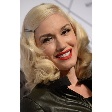 Gwen Stefani At Arrivals For Refinery29 Country Club Pop-Up Store Launch Rolled Canvas Art -  (8 x
