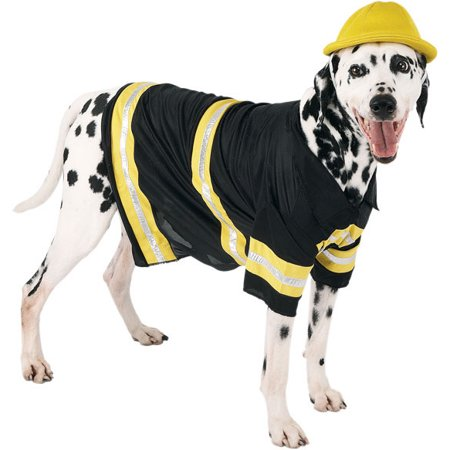 Firefighter Dog Costume~Small / - Firefighter Dog Costume