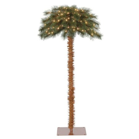 Island Breeze 5' Pre-Lit Artificial Tropical Christmas Palm Tree w/ White (Windmill Palm Trees For Sale In Nj)