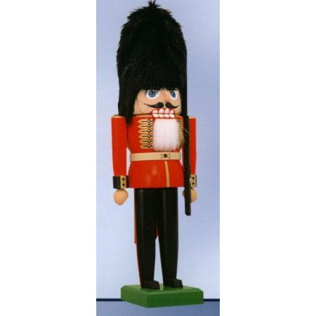 KWO German Christmas Nutcracker Beefeater King's Palace Guard Made in Germany ()