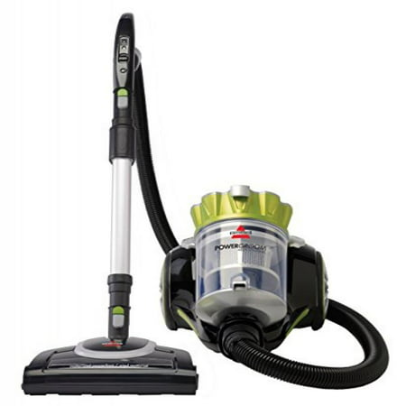 BISSELL PowerGroom Multi Cyclonic Bagless Canister Vacuum, 1654