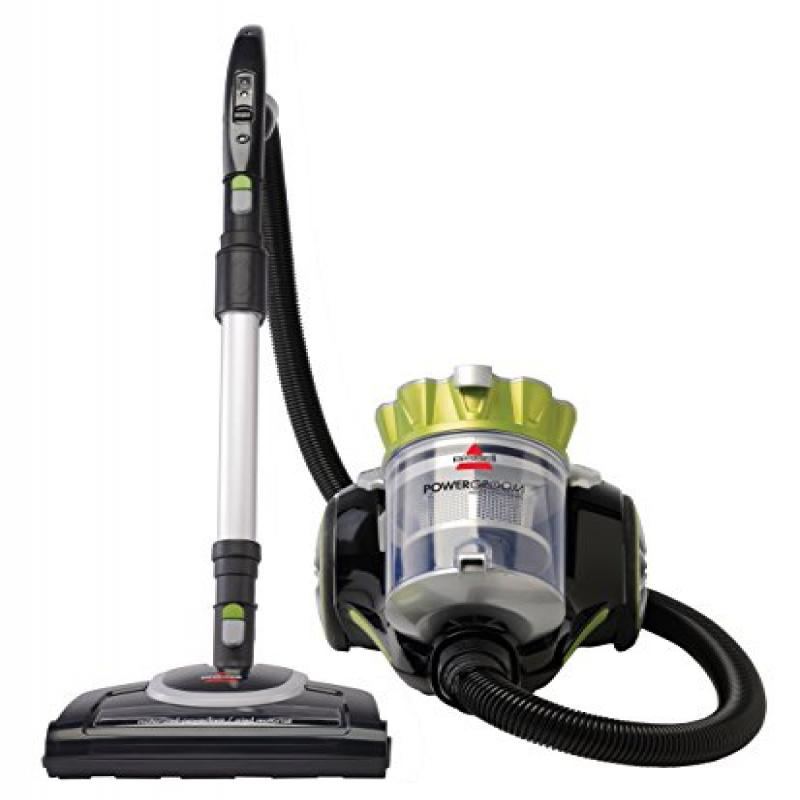 Bissell Powergroom Multicyclonic Bagless Canister Vacuum - Corded