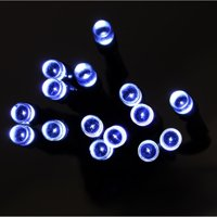ALEKO 100 LED Solar-Powered 35' Decorating String Lights