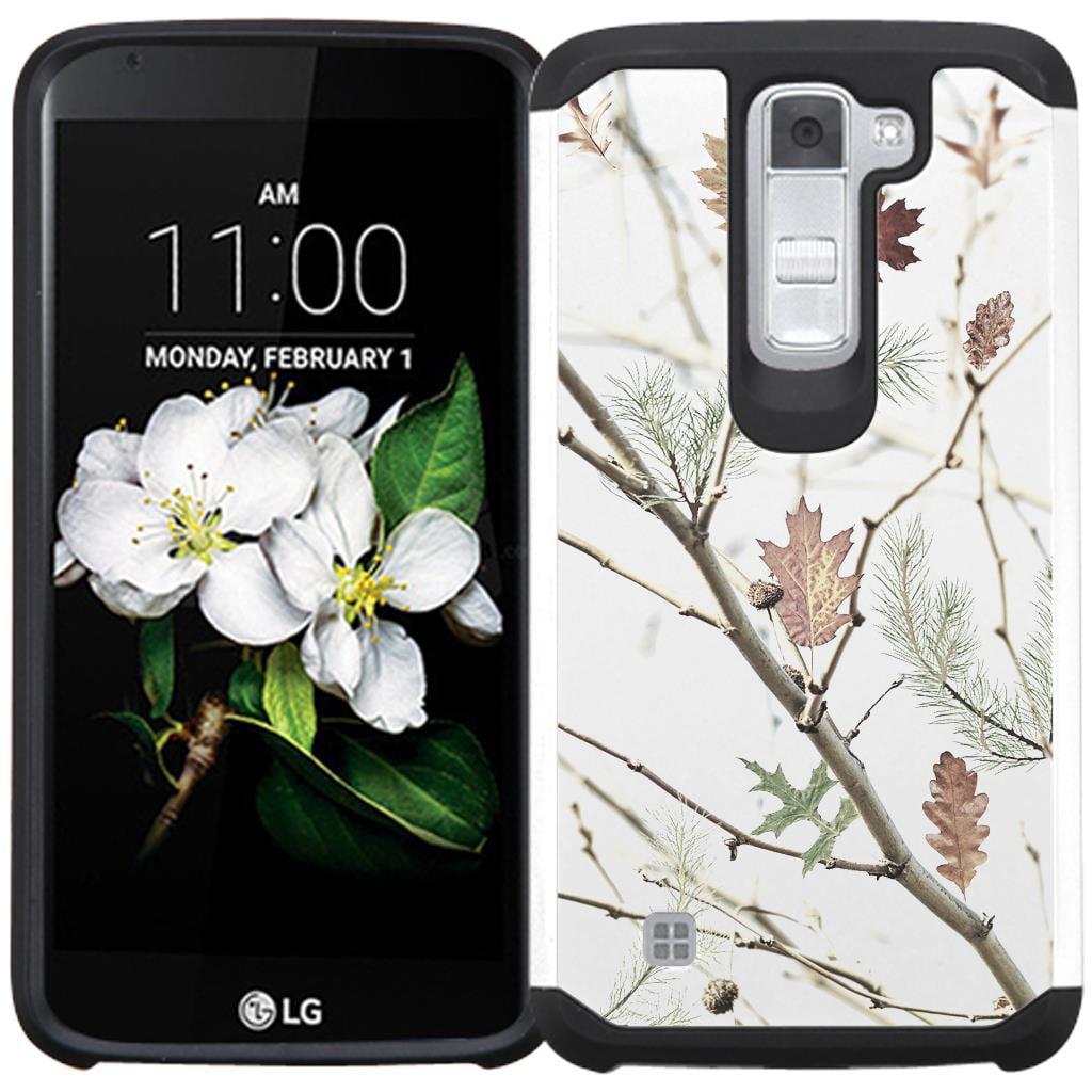 LG K7 Case / LG Tribute 5 Case / LG Treasure LTE L52VL Case / LG Escape 3 K373 Case - Armatus Gear (TM) Slim Hybrid Armor Case Dual Protective Phone Cover