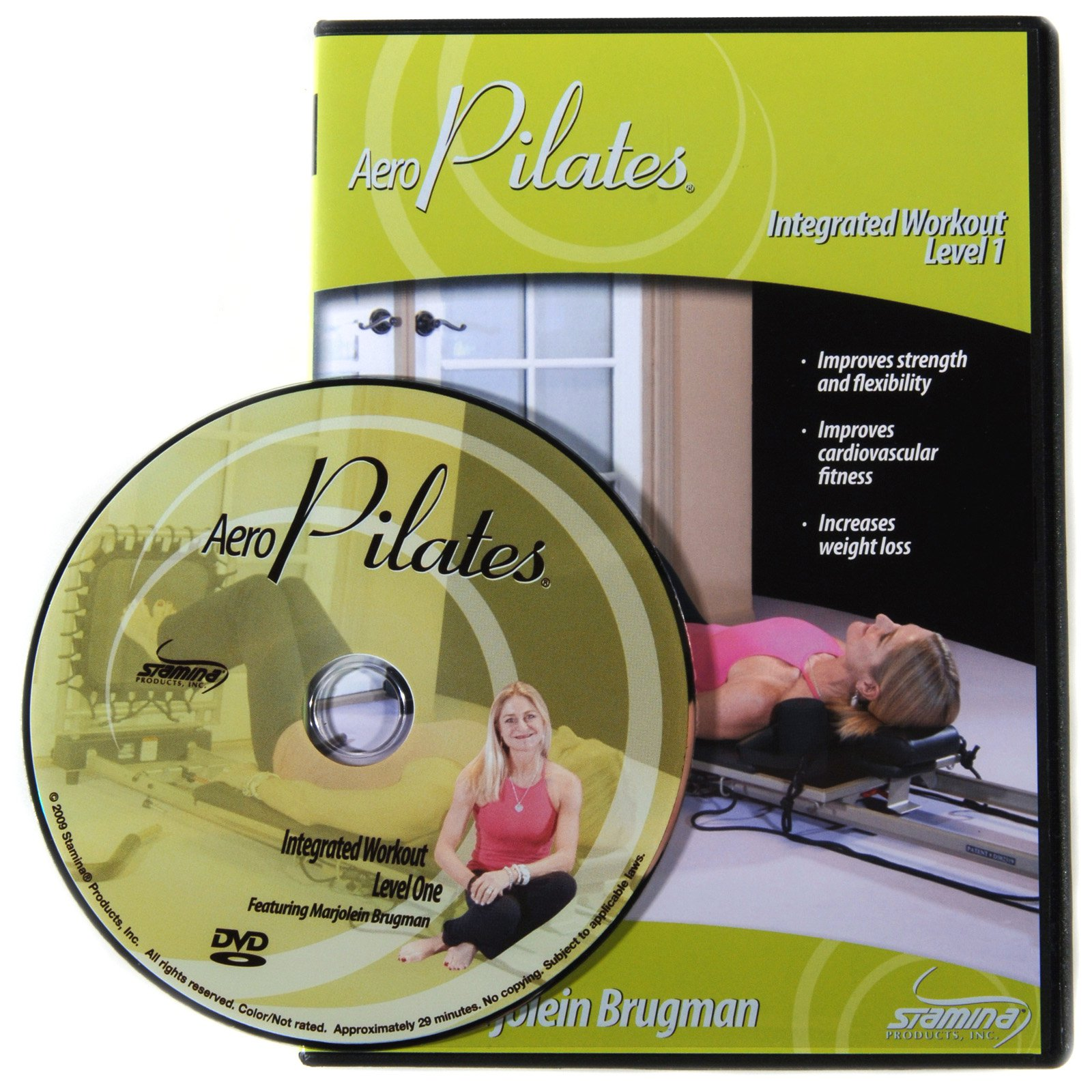 Stamina AeroPilates Level One Integrated Workout with Marjolein Brugman DVD