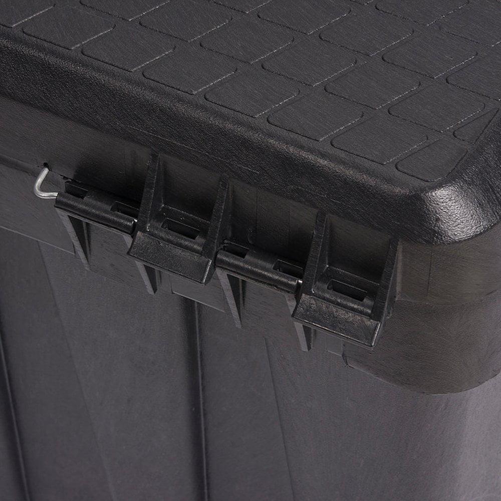 "CONTICO Portable Tool Box,35""W x 15-1/2""D x 14""H 3514NLBK"
