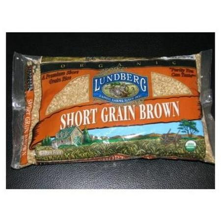Lundberg Family Farms Organic Short Grain Brown Rice, 2 LB (Pack of 6) Blend 2 Lb Package