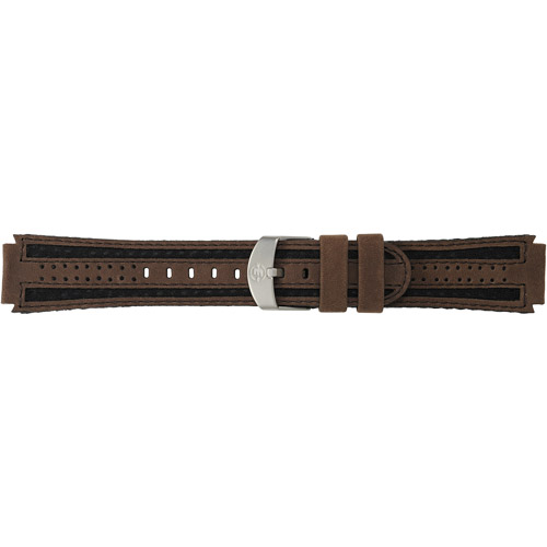 Timex Men's Expedition Sport 18mm Genuine-Leather Replacement Watch Band, Brown
