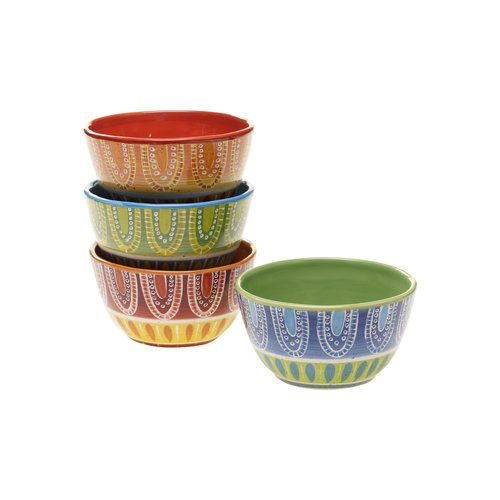 ice cream bowl set certified international tapas bowl set of 4 4386