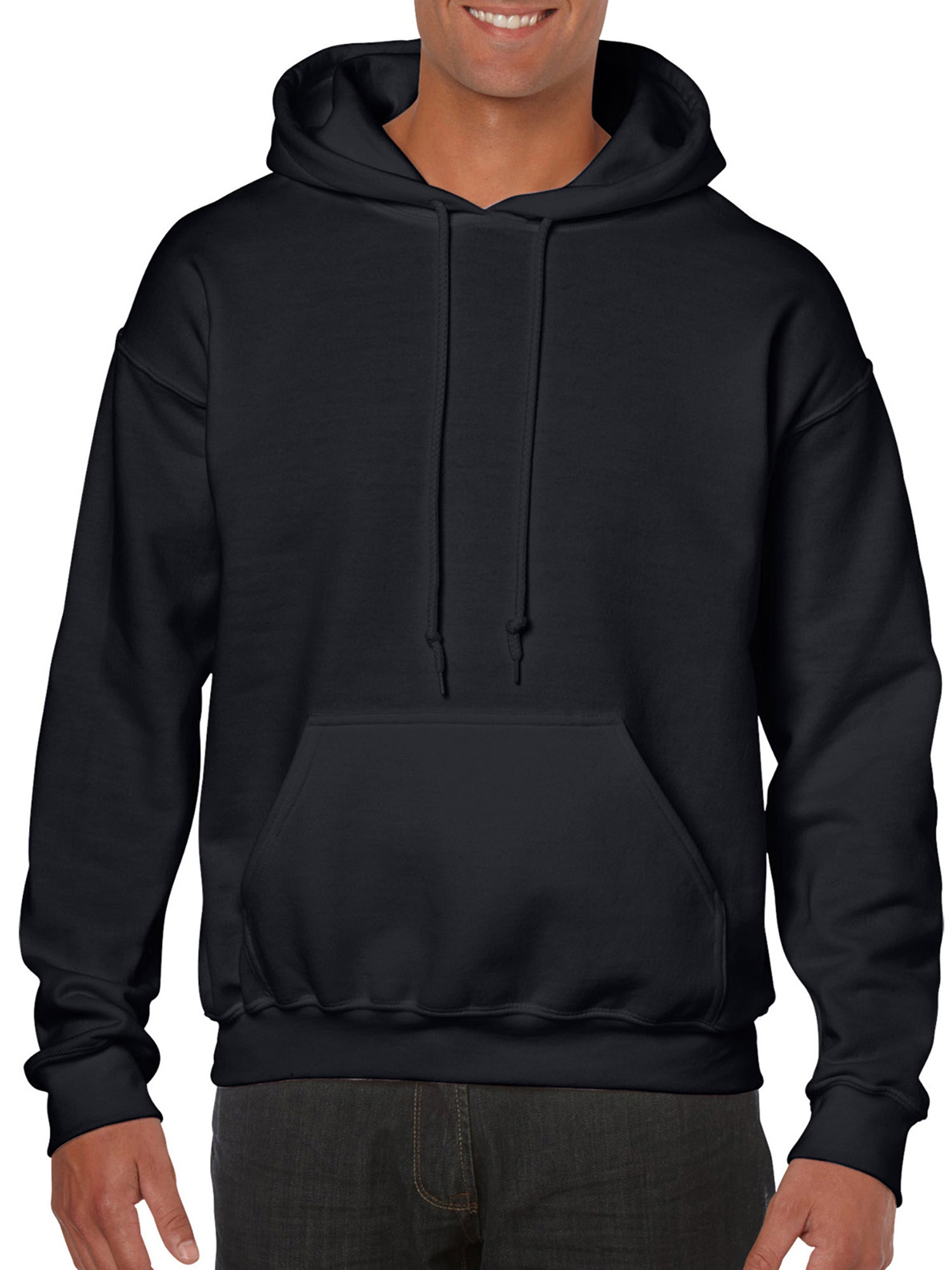 Big Mens Hooded Sweatshirt