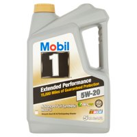Mobil 1 Extended Performance Advanced Full Synthetic 5W-20 Motor Oil, 5 qts