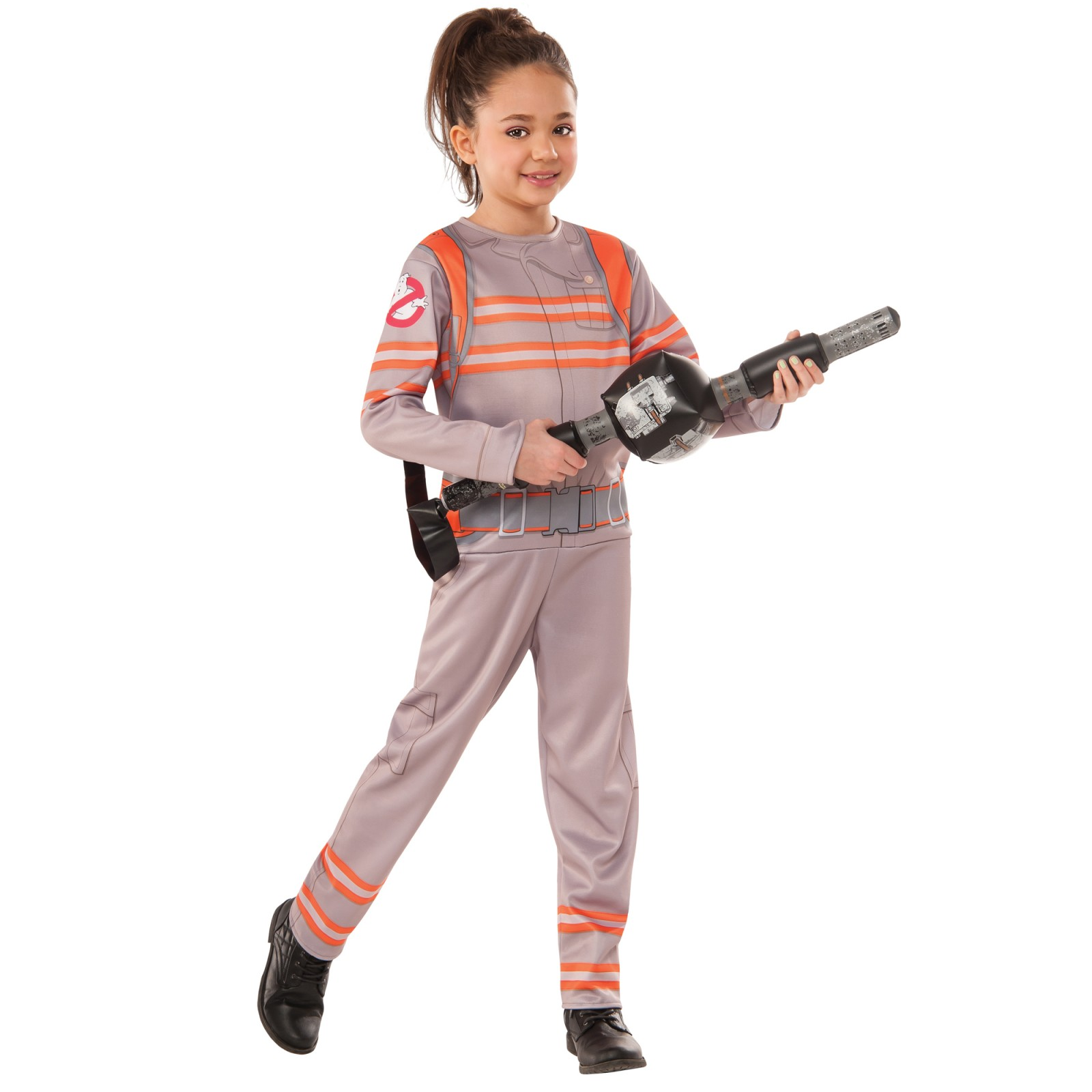 Ghostbusters Girls Costume  sc 1 st  Walmart & Ghostbuster Jumpsuit with Proton Wand Child Jumpsuit Halloween ...
