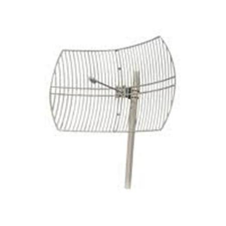5158-30DBI 5 gHz - 30DBI Outdoor Directional Aluminum Die Cast Grid Parabolic Antenna