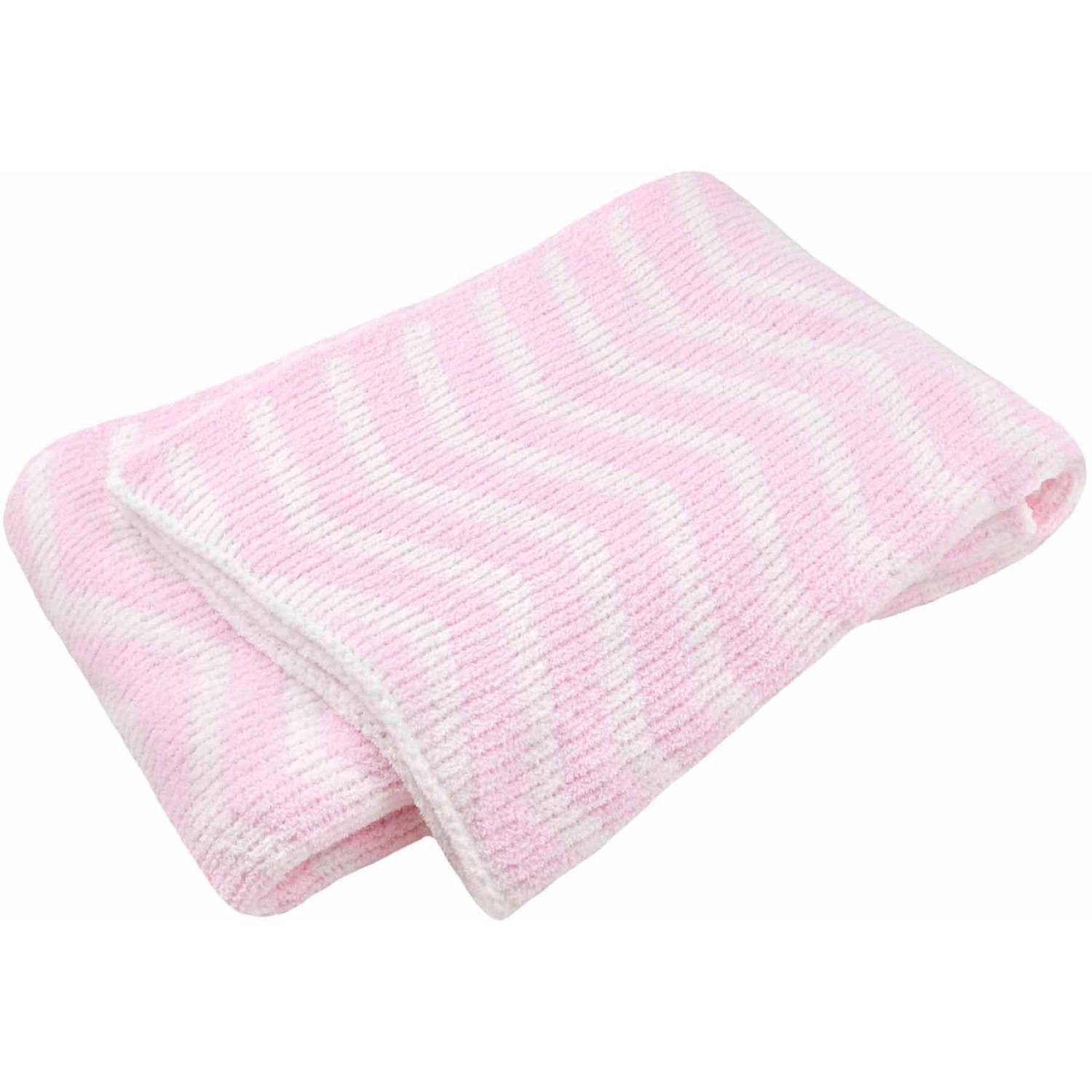 Child of Mine by Carter's Little Birds and Friends Chevron Chenille Sweater Knit Blanket