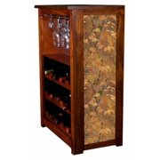 """""""Autumn Leaves"""" by Rosemary Millette Wine Cabinet"""