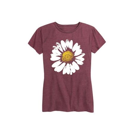 Big Daisy  - Ladies Short Sleeve Classic Fit Tee