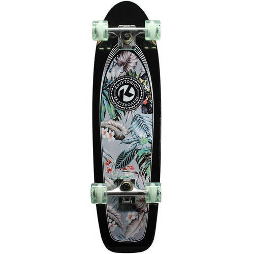 "Kryptonics Complete Cruiser Skateboard, 30"" x 8"""