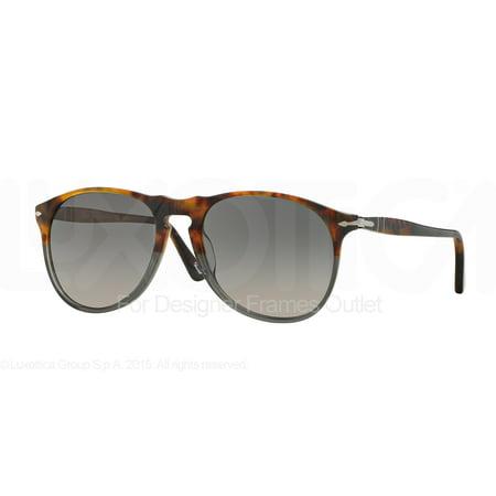 PERSOL Sunglasses PO 9649S 1023M3 Fuoco E Ardesia (Persol Po 2803s Sunglasses)