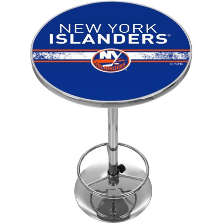 NHL Chrome Pub Table, New York Islanders by