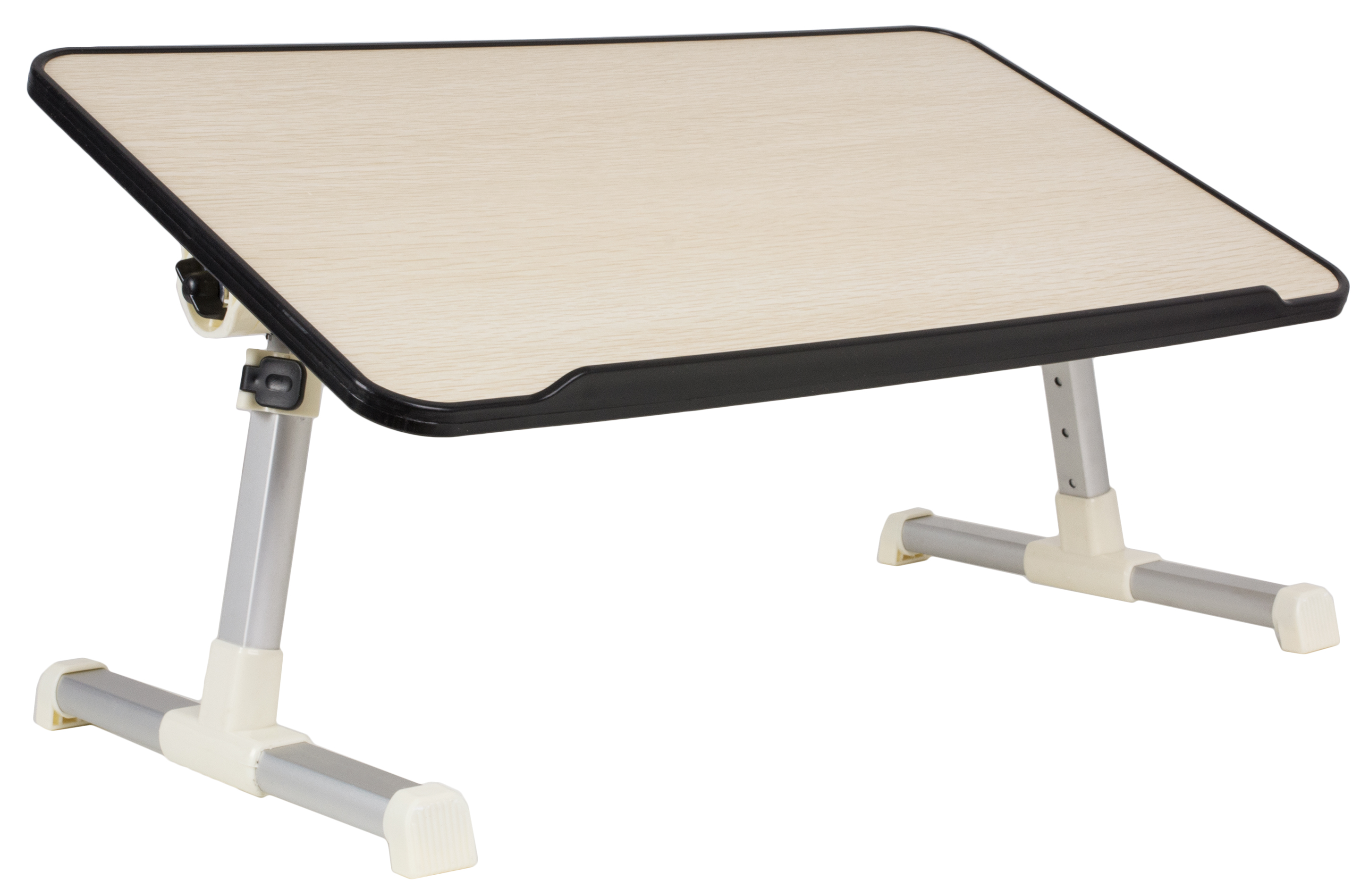 VIVO Height Adjustable Tilting Laptop Workstation Bed Tray, Folding Portable Book Table...