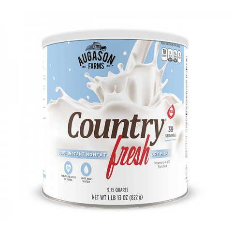 Augason Farms Cntry Fresh Instant Nonfat Milk