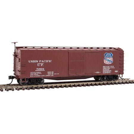 Walthers HO Scale 40' USRA Wood Boxcar Union Pacific/UP/Overland Route #72904