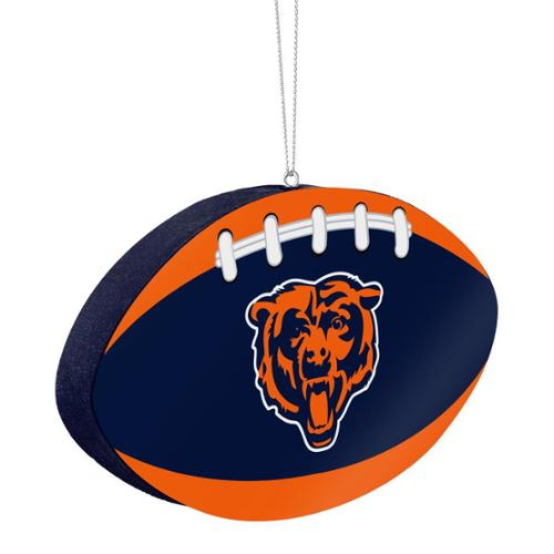 Chicago Bears Official NFL 4 inch  Foam Christmas Ball Ornament by Forever Collectibles