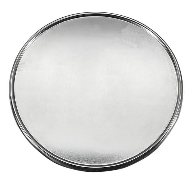 Visol VFE01 Round Plain Emblem self-adhesive Engraving Plate for Flasks