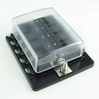 10 Position Low-Profile Mini/APS Fuse Panel (1 per pack)
