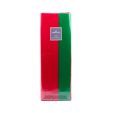 Hallmark Tissue Paper (Red and Green, 100 - Mint Green Tissue Paper