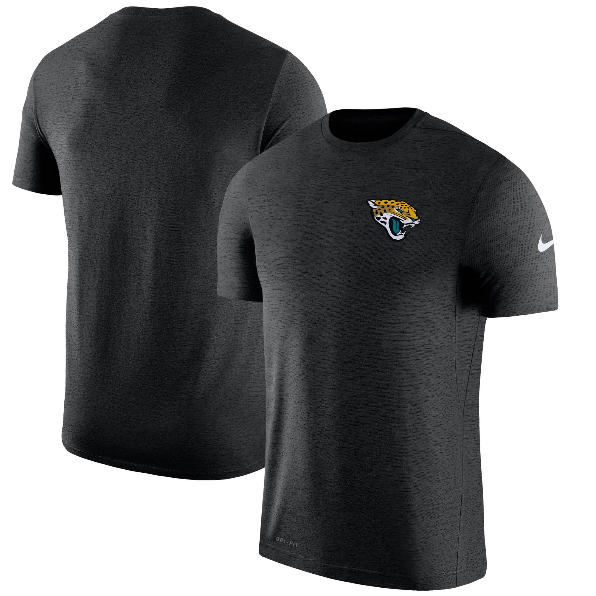 Jacksonville Jaguars Nike Sideline Coaches T-Shirt - Black