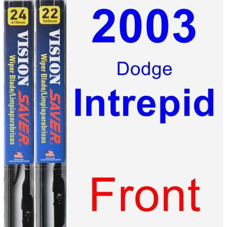 2003 Dodge Intrepid Wiper Blade Set/Kit (Front) (2 Blades) - Vision Saver
