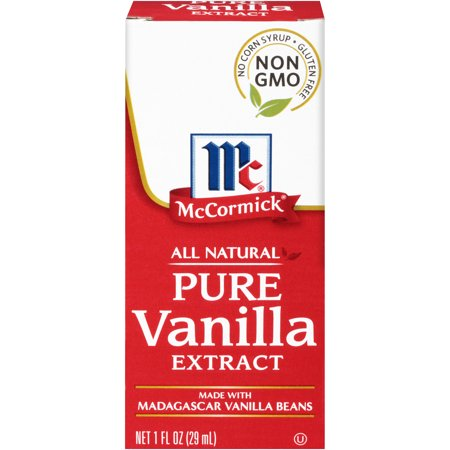 McCormick All Natural Pure Vanilla Extract, 1 fl - Lemon Vanilla Extract