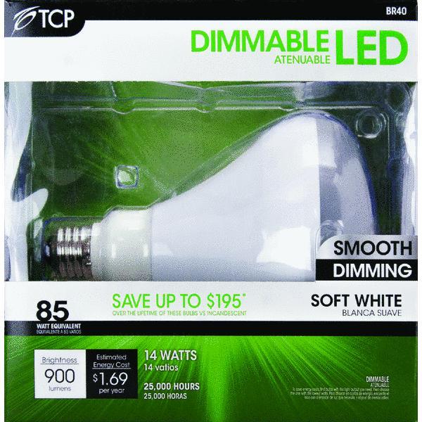 TCP BR40 Dimmable LED Floodlight Light Bulb