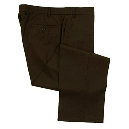 62803e95863b Ralph Lauren - Ralph Lauren Wool Dress Pants For Men Classic Flat Front  Style Trousers 46Wx34L Brown - Walmart.com