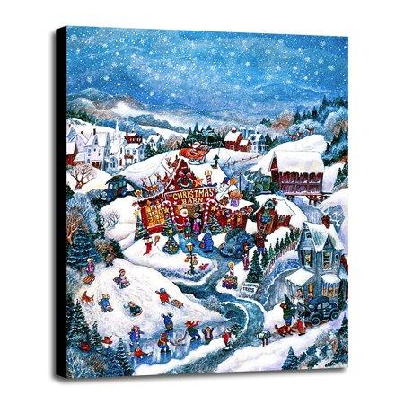 Christmas Barn-BILBEL288 Print 10