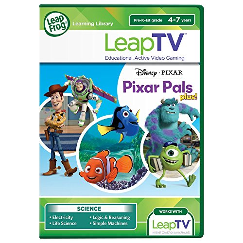 LeapFrog LeapTV Disney Pixar Pals Plus Educational, Active Video Game by LeapFrog
