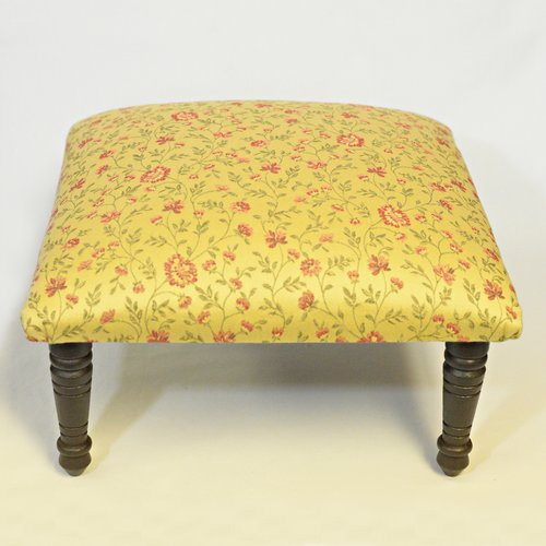 Corona Decor Blossom Flora Footstool by Corona Decor