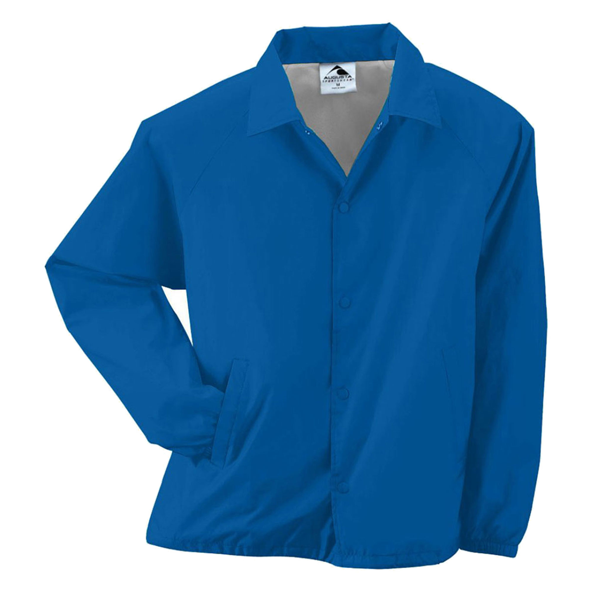 Augusta Sportswear Mens Brushed Tricot Jacket, Royal, 3XL...