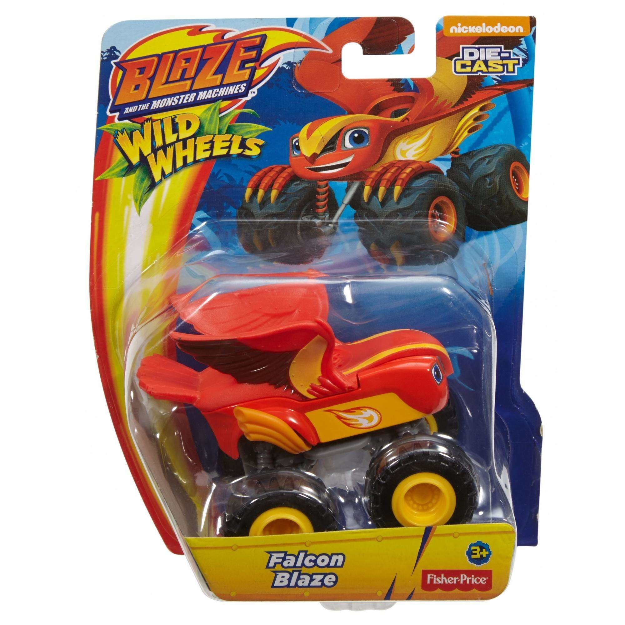 Nickelodeon Blaze and the Monster Machines Blaze Vehicle Assortment