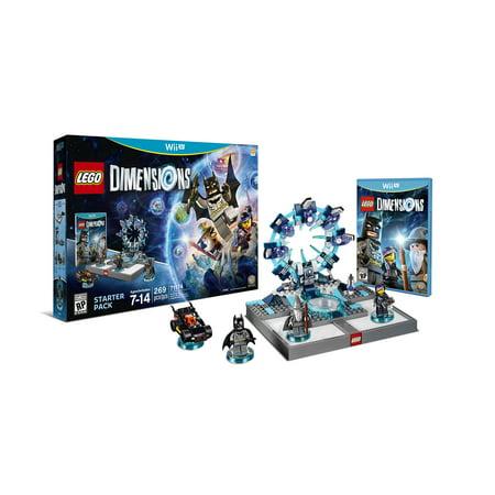 Warner Bros. LEGO Dimensions Starter Pack (Wii U)