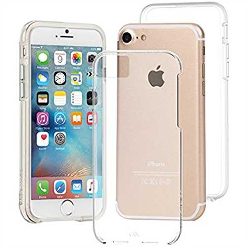 Refurbished Case-Mate Naked Tough Case iPhone 7/6s/6 Clear, CM034670X (Clear)